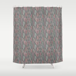pastel floral Shower Curtain
