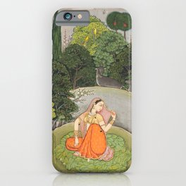 The Heroine Who Waits Anxiously for Her Absent Lover iPhone Case