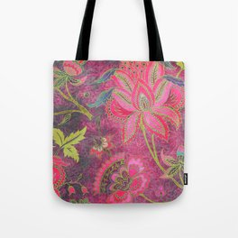 Jacobean Gold Leaf Tote Bag