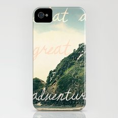 what a great adventure iPhone (4, 4s) Slim Case