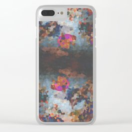 Pixelated Clear iPhone Case