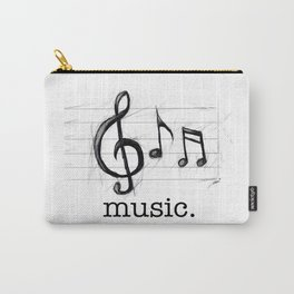 Music From The Heart Carry-All Pouch