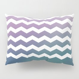 Chevron Smooth Gradient Pillow Sham