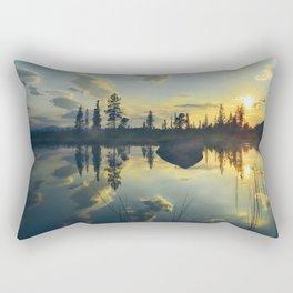 nothern sunset Rectangular Pillow