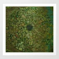 Tile Circle Art Print