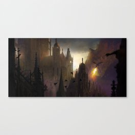 Here comes the fire Canvas Print