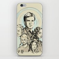 firefly iPhone & iPod Skins featuring Firefly by Miki Price