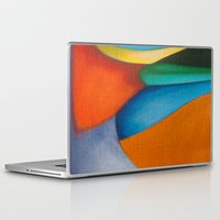 literary Laptop & iPad Skins featuring No Meio do Caminho (In The Middle Of The Road) by Fernando Vieira