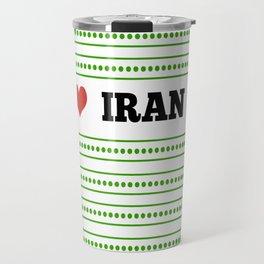 I Love Iran Travel Mug