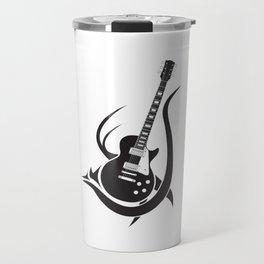 Tribal Guitar Travel Mug