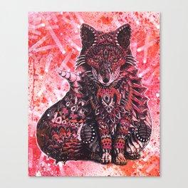 Ruby Fox Canvas Print