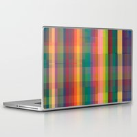 cracked Laptop & iPad Skins featuring Cracked by datavis/pwowk