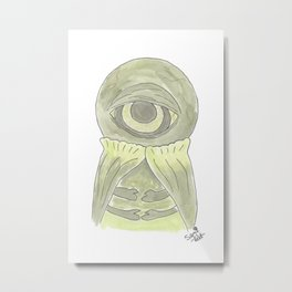 Doctor Who - Alpha Centauri Metal Print