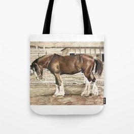 Draught Horse Tote Bag