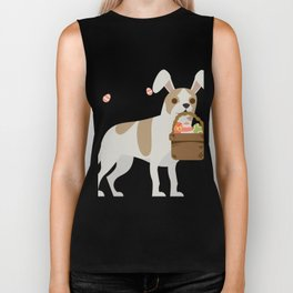 Chihuahua Easter Funny for Boys Girls Love Dog Puppy Biker Tank