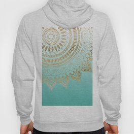 Pretty hand drawn tribal mandala elegant design Hoody