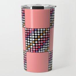 Checker Disco Travel Mug