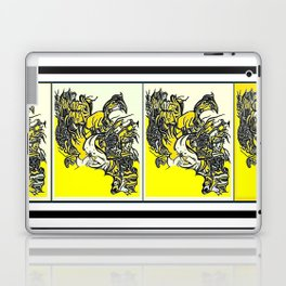 When the world fulls down, will you still be standing? Laptop & iPad Skin