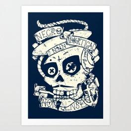 Necro Nautical Nonsense  Art Print
