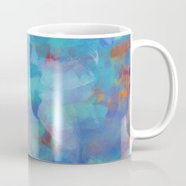Paint Strokes Two Coffee Mug