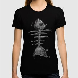 """Fishbone"" - Abstract print T-shirt"