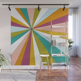 Color Burst  Wall Mural