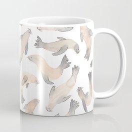 My Lips Are Seals Coffee Mug