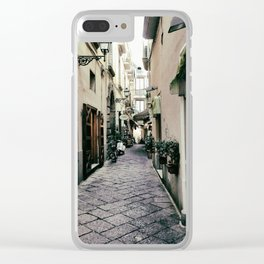 Street of Sorrento Clear iPhone Case