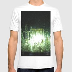 Luminescence Mens Fitted Tee White MEDIUM