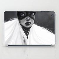 batgirl iPad Cases featuring Batgirl by cennet kapkac