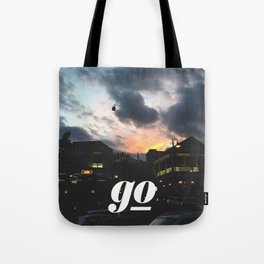 Go // #TravelSeries Tote Bag