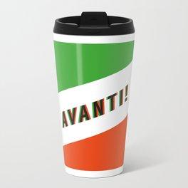 AVANTI! - Square - Living Hell Travel Mug
