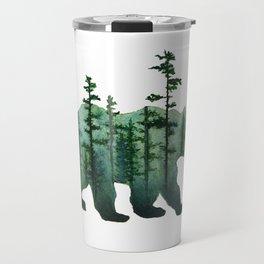 Bear and Forest Travel Mug