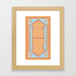 Moroccan Tapestry Framed Art Print