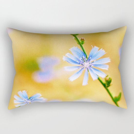 Wild Chicory Rectangular Pillow