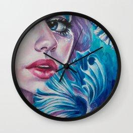Aquatic Vibrations Wall Clock