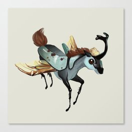 Tiny Unicorn (1 of 3) Canvas Print