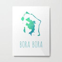 Bora Bora Metal Print
