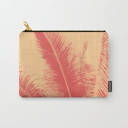 Mango Coral Tropical Palma Carry-All Pouch
