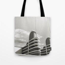 PAN PACIFIC AUDITORIUM BLACK AND WHITE Tote Bag