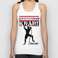 thailand Tank Tops featuring Rock Climbing Thailand by mailboxdisco