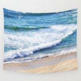 CALIFORNIA COAST - PACIFIC OCEAN BLUE Wall Tapestry