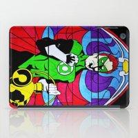 religion iPad Cases featuring heroic religion by Flo Zero