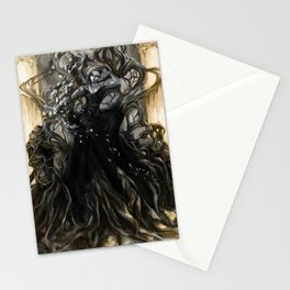 Paint it Black Stationery Cards