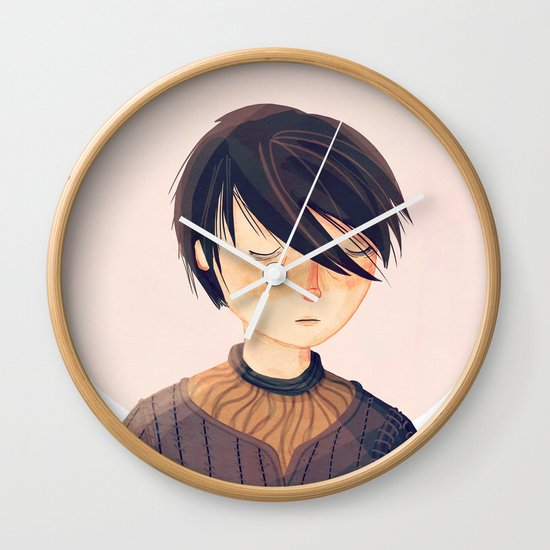 There Is Only One Thing We Say To Death Wall Clock