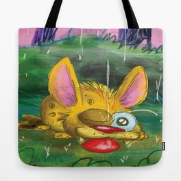 Come in from the rain Tote Bag