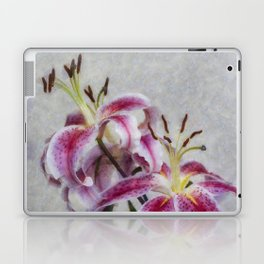 Pink Lillies Laptop & iPad Skin