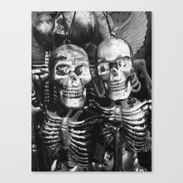 Skeleton Twins Canvas Print