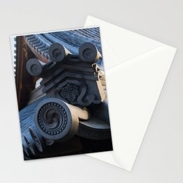 Japanese traditional temple roof 2 Stationery Cards