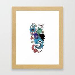 Plasma Framed Art Print